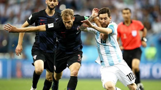 """World Cup 2018: Nhấn chìm Argentina 3-0, """"ngựa ô"""" Croatia lộ diện ảnh 1"""