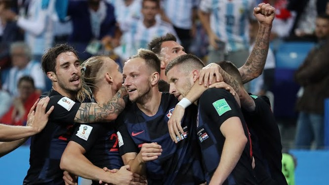 """World Cup 2018: Nhấn chìm Argentina 3-0, """"ngựa ô"""" Croatia lộ diện ảnh 3"""