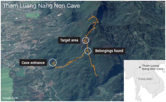 Sau 9 ngày mất tích trong hang ngập lụt, đội bóng nhí Thái Lan đã được tìm thấy ảnh 2