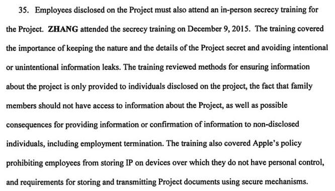 Vén màn bí mật Dự án Titan qua vụ gián điệp Trung Quốc ăn cắp bí mật của Apple ảnh 3