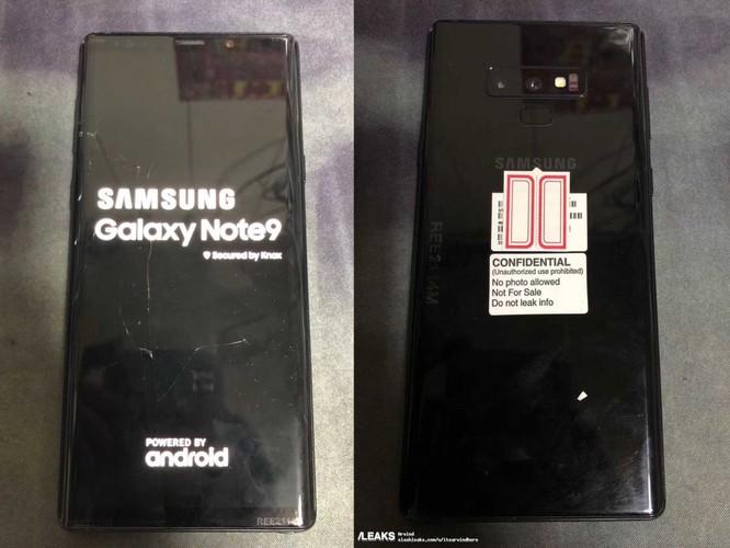 """Rò rỉ hình ảnh Galaxy Note 9 """"bằng xương, bằng thịt"""" đầu tiên ảnh 1"""