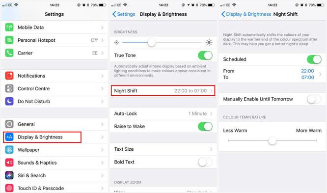 Đừng quên kích hoạt bộ lọc tia sáng xanh trên smartphone để bảo vệ giấc ngủ ảnh 2