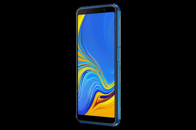 """Chiêm ngưỡng """"dung nhan"""" Galaxy A7: smartphone tầm trung với cụm 3 camera ảnh 8"""