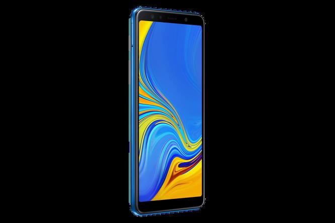 """Chiêm ngưỡng """"dung nhan"""" Galaxy A7: smartphone tầm trung với cụm 3 camera ảnh 10"""