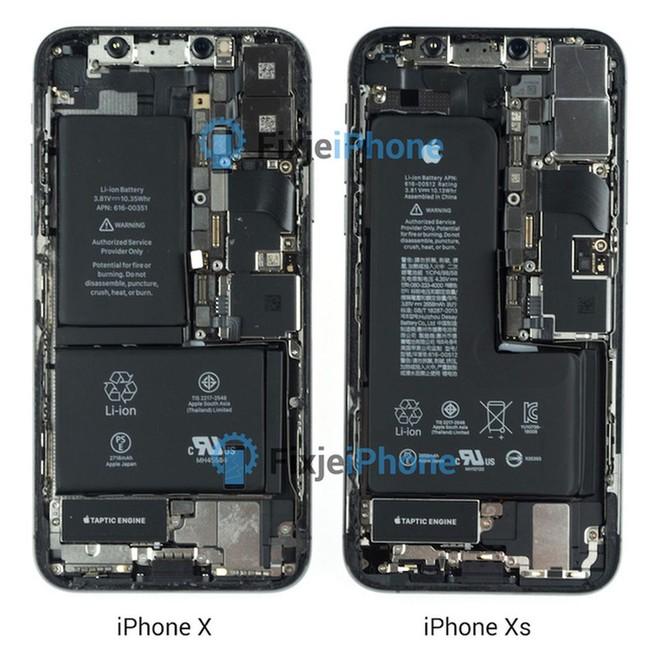 """""""Nội soi"""" iPhone Xs: Pin liền chữ L, kết cấu chắc chắn nhưng cực khó sửa chữa ảnh 1"""