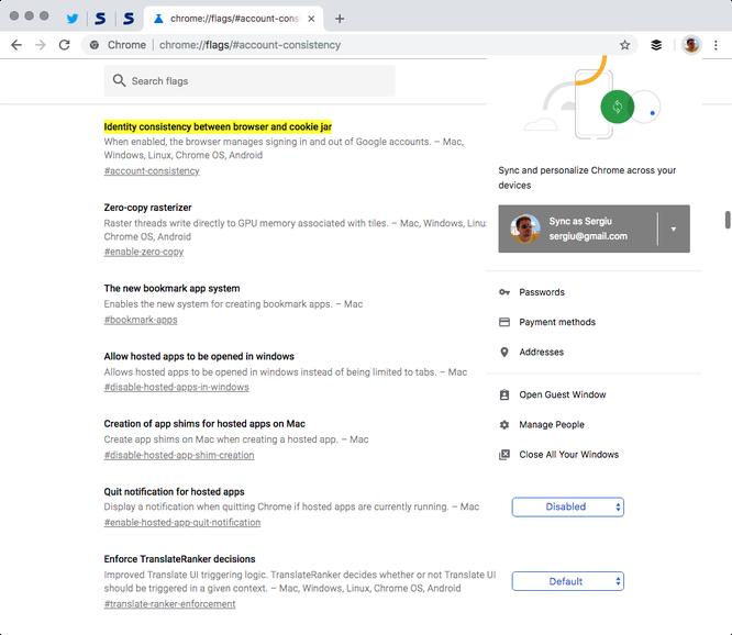 Làm thế nào để ngăn Chrome 69 tự động liên kết với tài khoản Google? ảnh 1