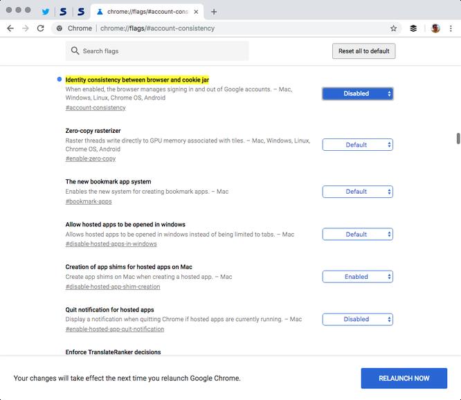 Làm thế nào để ngăn Chrome 69 tự động liên kết với tài khoản Google? ảnh 3