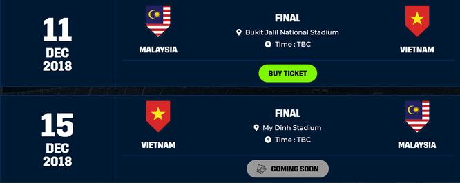 VFF sẽ mở bán online vé Chung kết lượt về AFF Suzuki Cup 2018 theo 4 mệnh giá ảnh 1