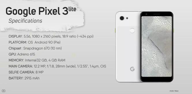 Lộ video trên tay Pixel 3 Lite: Đối thủ xứng tầm của iPhone Xr ảnh 6