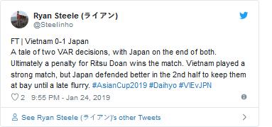 Người hâm mộ phản ứng trái chiều về quả penalty nhờ công nghệ VAR của đội Nhật Bản ảnh 2