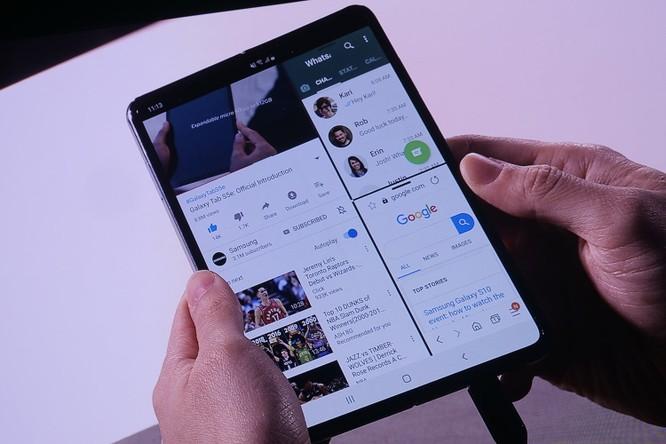Lộ diện Galaxy Fold: Đắt hơn iPhone Xs Max ảnh 3