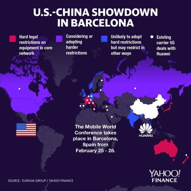 MWC thời kỳ chiến tranh công nghệ Mỹ - Trung: Huawei là tâm điểm ảnh 1