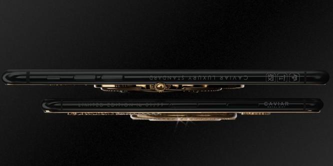 Nút vặn của đồng hồ có thể khiến thiết kế ban đầu của iPhone khác đi một chút, vì thế ốp điện thoại thông thường không thể vừa với phiên bản mới này. Caviar cũng không bán bất kỳ loại ốp nào cho phiên bản giới hạn của hãng. Ảnh: BI