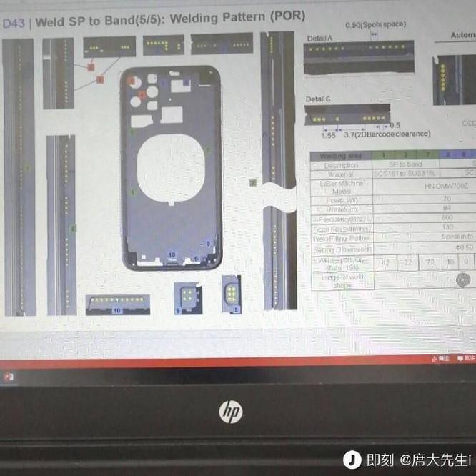 iPhone 11 lộ diện qua linh kiện bị đánh cắp khỏi nhà máy của Foxconn ảnh 1