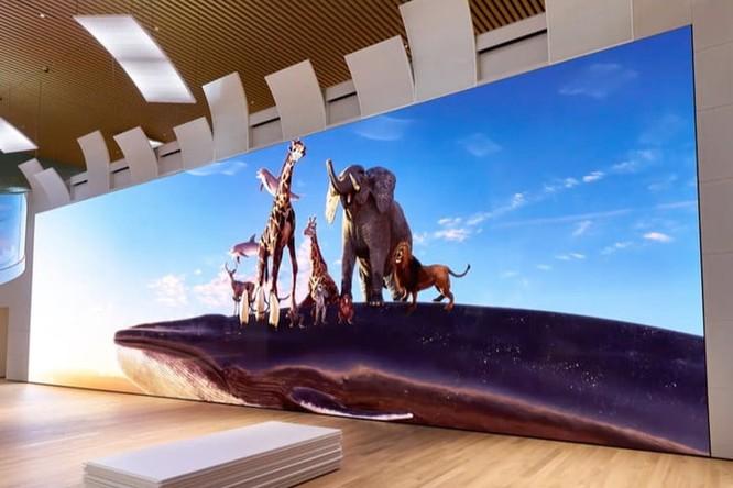 """Sony ra mắt màn hình 16K """"có kích cỡ dài hơn xe bus"""" ảnh 1"""