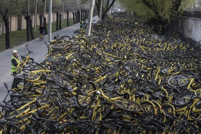 """Câu chuyện thăng trầm của """"đế chế"""" cho thuê xe đạp Trung Quốc ảnh 4"""
