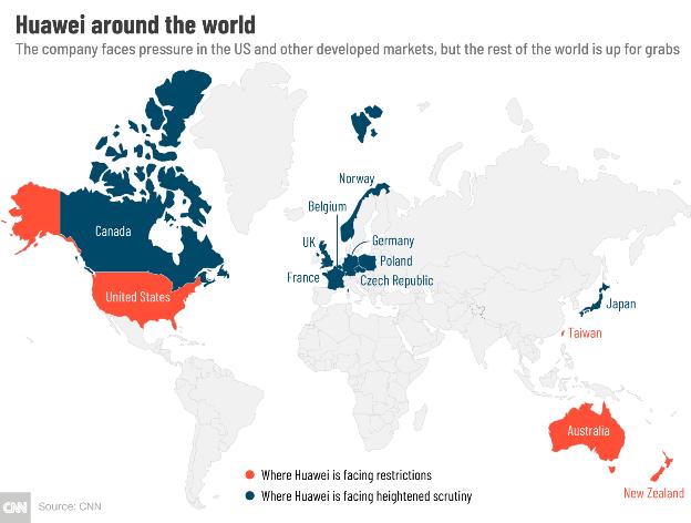 Công nghệ 5G đang dần chia rẽ thế giới như thế nào? ảnh 1