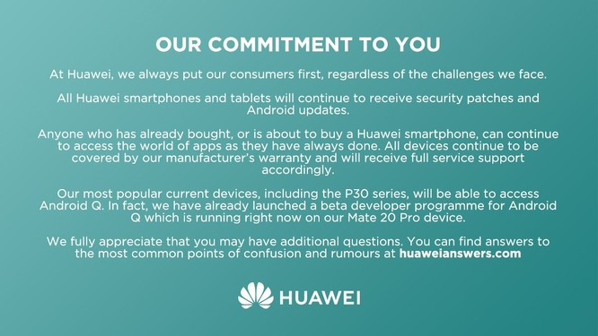 Danh sách 16 smartphone Huawei nhận bản cập nhật Android Q ảnh 1