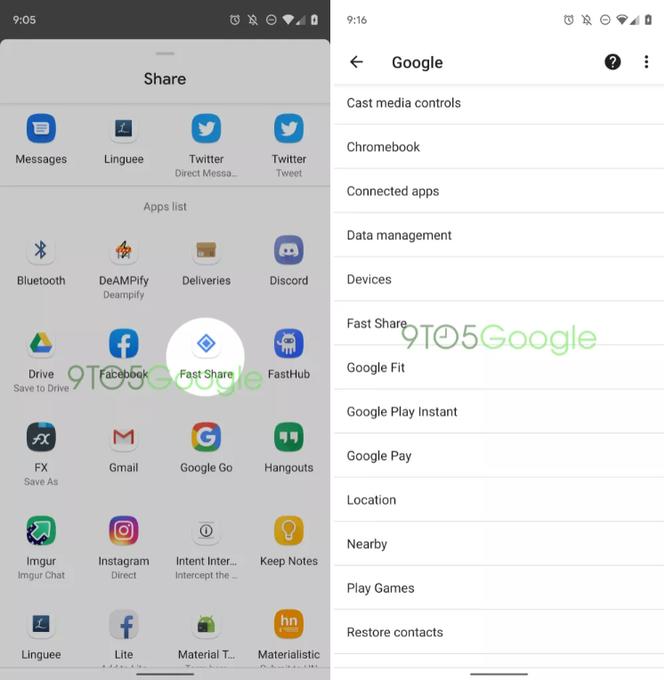 """Google rục rịch thử nghiệm Fast Share trên Android nhằm """"lật đổ"""" Apple AirDrop ảnh 1"""
