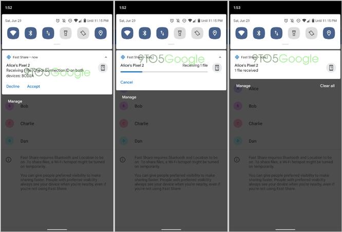 """Google rục rịch thử nghiệm Fast Share trên Android nhằm """"lật đổ"""" Apple AirDrop ảnh 3"""