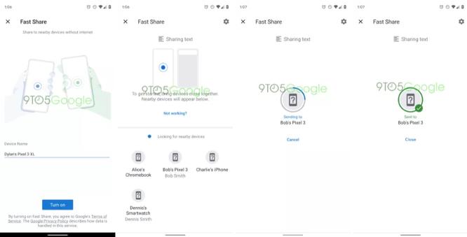"""Google rục rịch thử nghiệm Fast Share trên Android nhằm """"lật đổ"""" Apple AirDrop ảnh 2"""