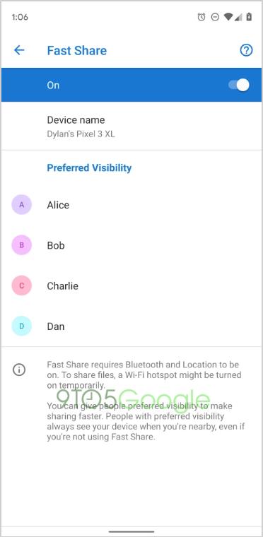 """Google rục rịch thử nghiệm Fast Share trên Android nhằm """"lật đổ"""" Apple AirDrop ảnh 4"""