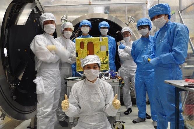Việt Nam có bước tiến vượt bậc về công nghệ vũ trụ ảnh 1