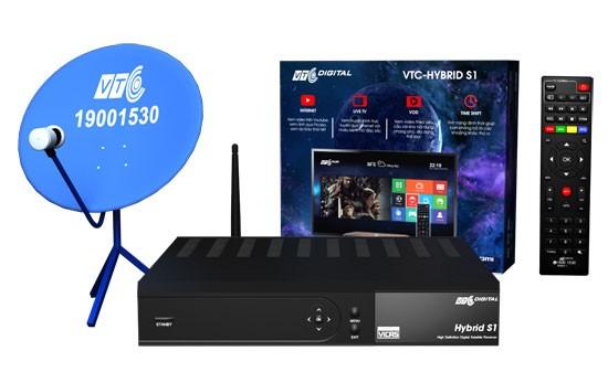 """VTC ra mắt bộ thu truyền hình """"3 trong 1"""" VTC Hybrid S1 ảnh 1"""