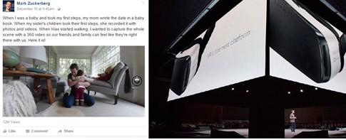 Samsung và chiến lược dẫn đầu trong cuộc chiến công nghệ thực tế ảo ảnh 2