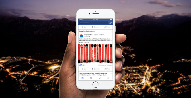Facebook sắp cho phép phát thanh trực tuyến ảnh 1