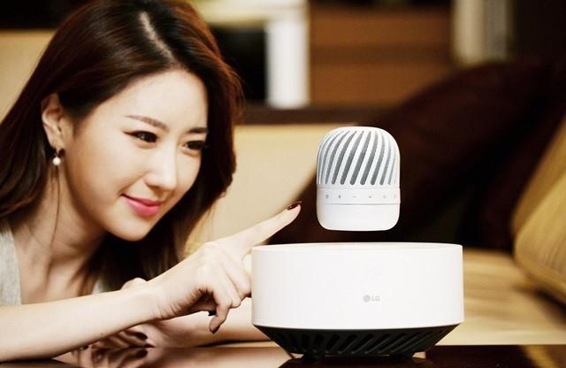 LG giới thiệu loa nghe nhạc 'bay lơ lửng' ảnh 1