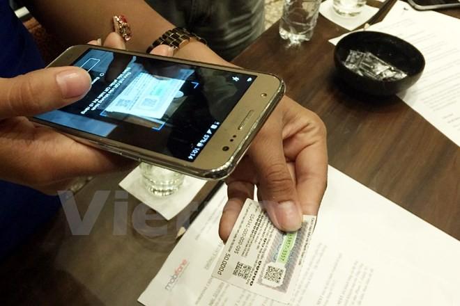 Ra mắt ứng dụng nạp tiền điện thoại sử dụng công nghệ đọc mã vạch ảnh 1