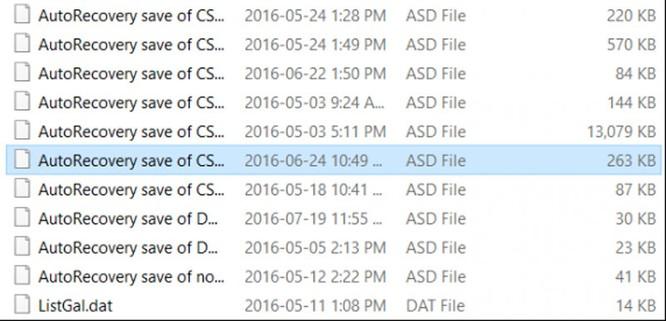 File Word 2016 bị lỗi: Làm sao khôi phục? ảnh 4