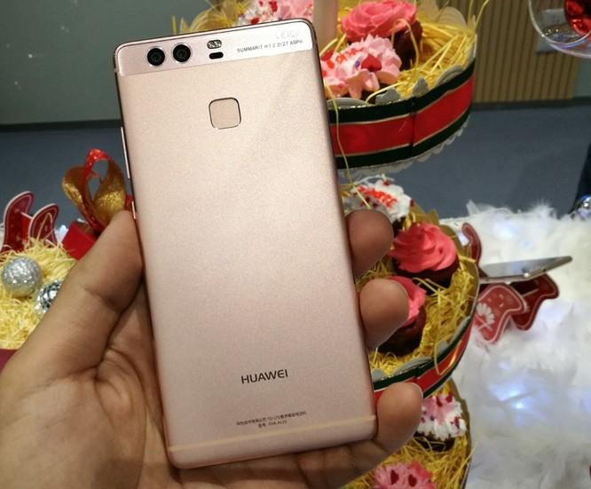 Huawei tung phiên bản P9 màu vàng hồng tại Việt Nam ảnh 1