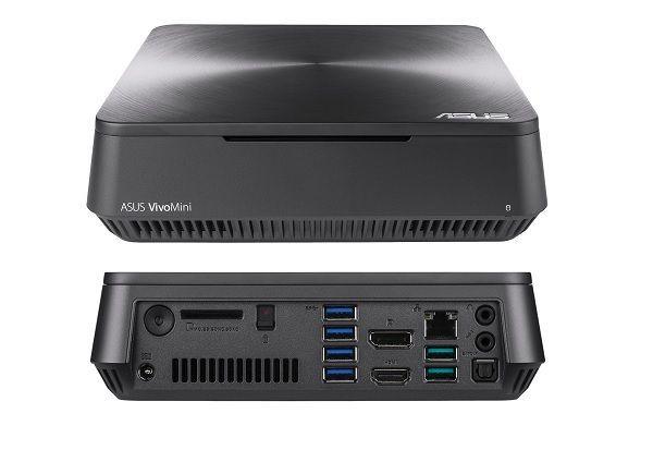 Asus ra mắt máy tính nhỏ gọn VivoMini dùng chip Intel Kaby Lake ảnh 1
