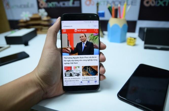"""Samsung S7 Edge """"đen bóng"""" có giá 18,99 triệu tại Việt Nam, 10 ngày nữa bán ảnh 1"""