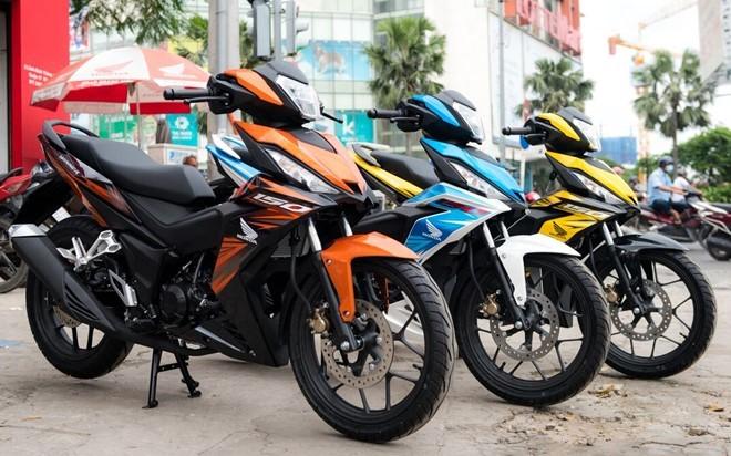 Bức tranh thị trường xe máy năm 2016 ảnh 1