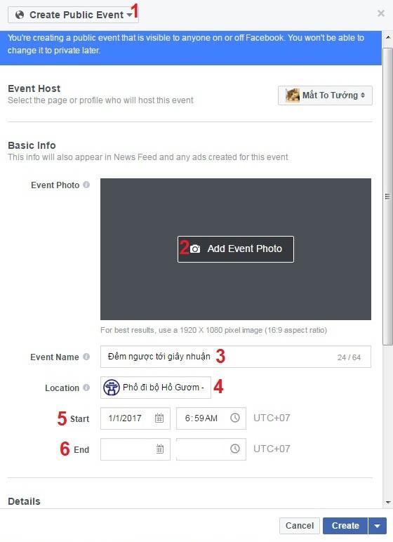 Mách bạn cách tạo sự kiện Facebook để lên kế hoạch tụ tập ảnh 3