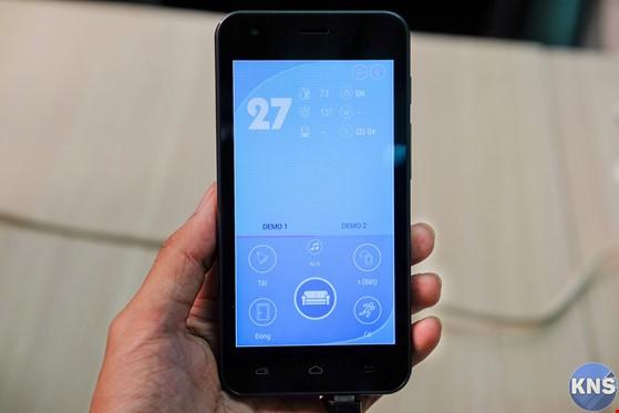 Điều khiển hệ thống điện trong nhà bằng smartphone ảnh 1