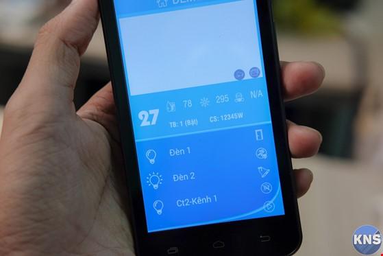 Điều khiển hệ thống điện trong nhà bằng smartphone ảnh 2