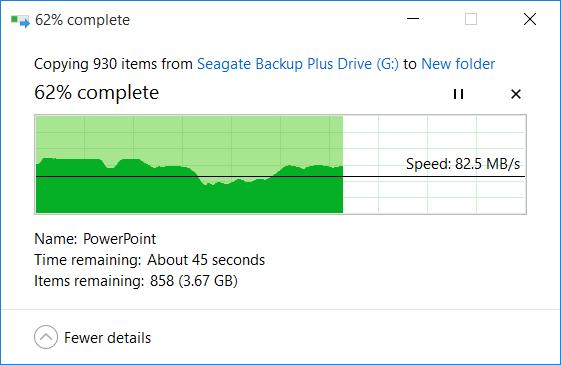 Trải nghiệm Seagate Backup Plus: ổ cứng di động 4TB, giá khá mềm ảnh 9
