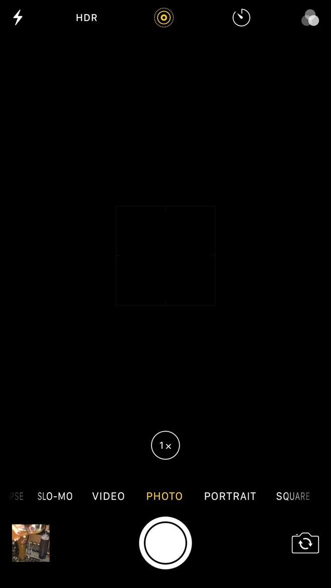 iPhone 7 Plus gặp vấn đề quá nhiệt và màn hình đen khi bật camera ảnh 1