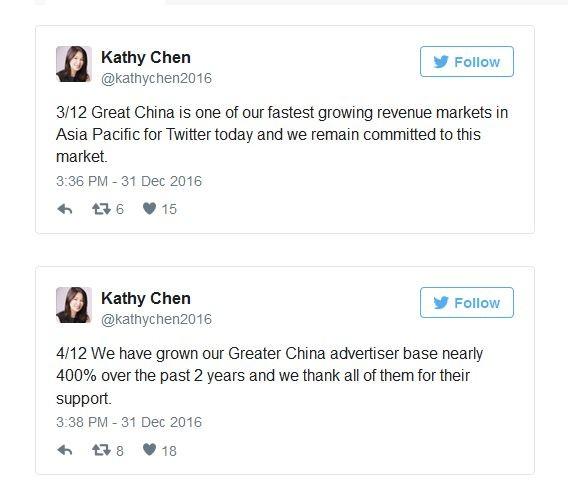 Đằng sau việc Giám đốc Twitter Trung Quốc từ chức sau 8 tháng ảnh 1