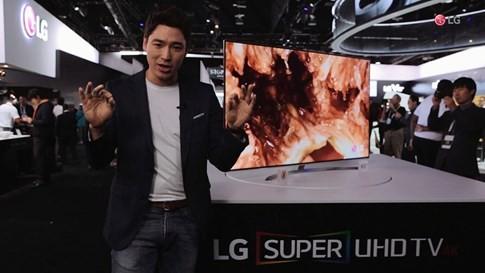 LG trình diễn thế hệ Super UHD TV với công nghệ Nano Cell tại CES 2017 ảnh 1