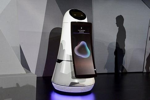 LG ra mắt robot kiểm soát ngôi nhà và hướng dẫn tại sân bay ảnh 1