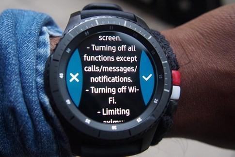 Khai thác những tính năng độc đáo của đồng hồ Samsung Gear S3 ảnh 1