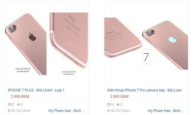 Giáp Tết, iPhone 7 hàng nhái tung hoành trên kênh bán hàng online ảnh 2