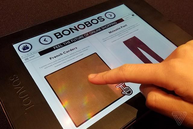 Công nghệ giúp cảm nhận vật thể qua bất kỳ màn hình cảm ứng nào ảnh 1