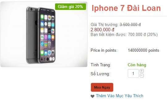 Giáp Tết, iPhone 7 hàng nhái tung hoành trên kênh bán hàng online ảnh 3