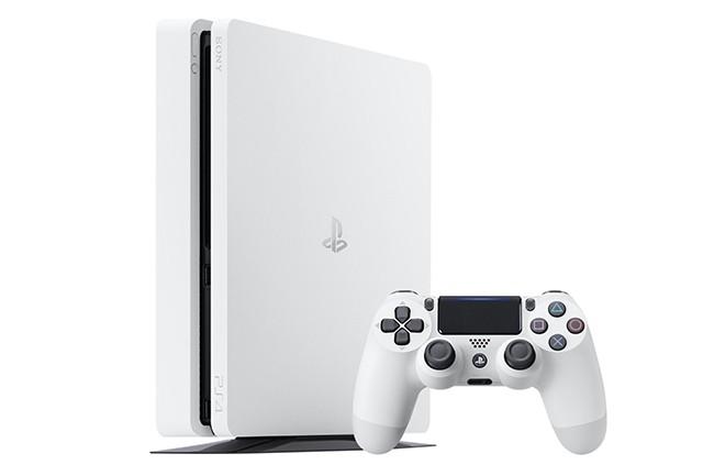 Sony ra mắt PS4 Slim màu Glacier White bán ngay trong tháng 1/2017 ảnh 1